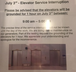 elevator copy