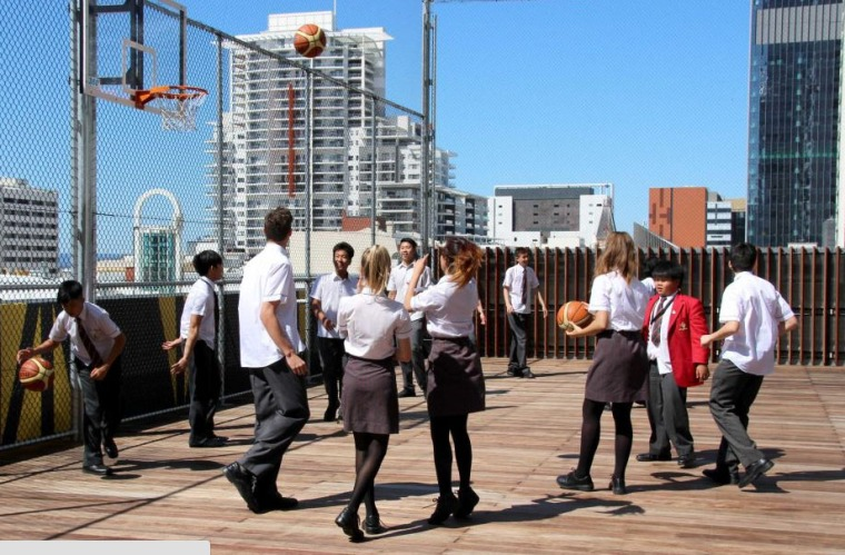 rooftop bball