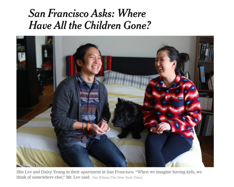 san fran where have all the children gone
